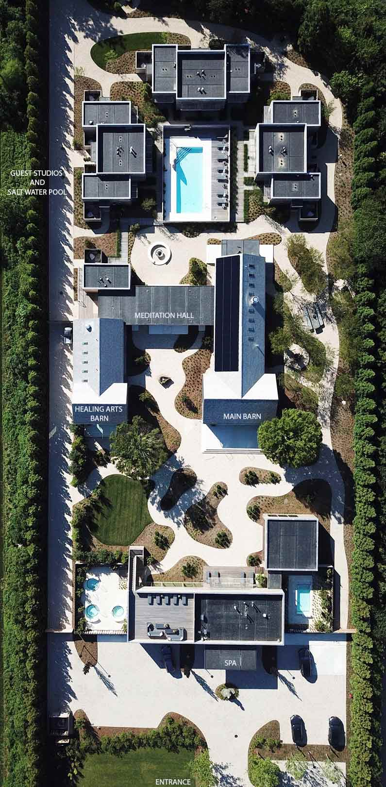 Bird's Eye View of Property